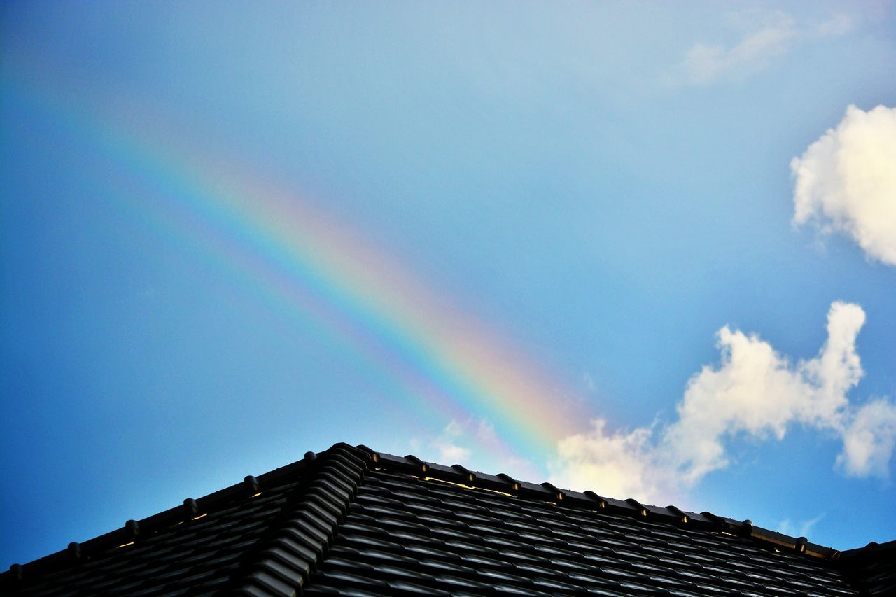 Beautiful stock photos of rainbow, Architecture, Built Structure, Cloud, Day