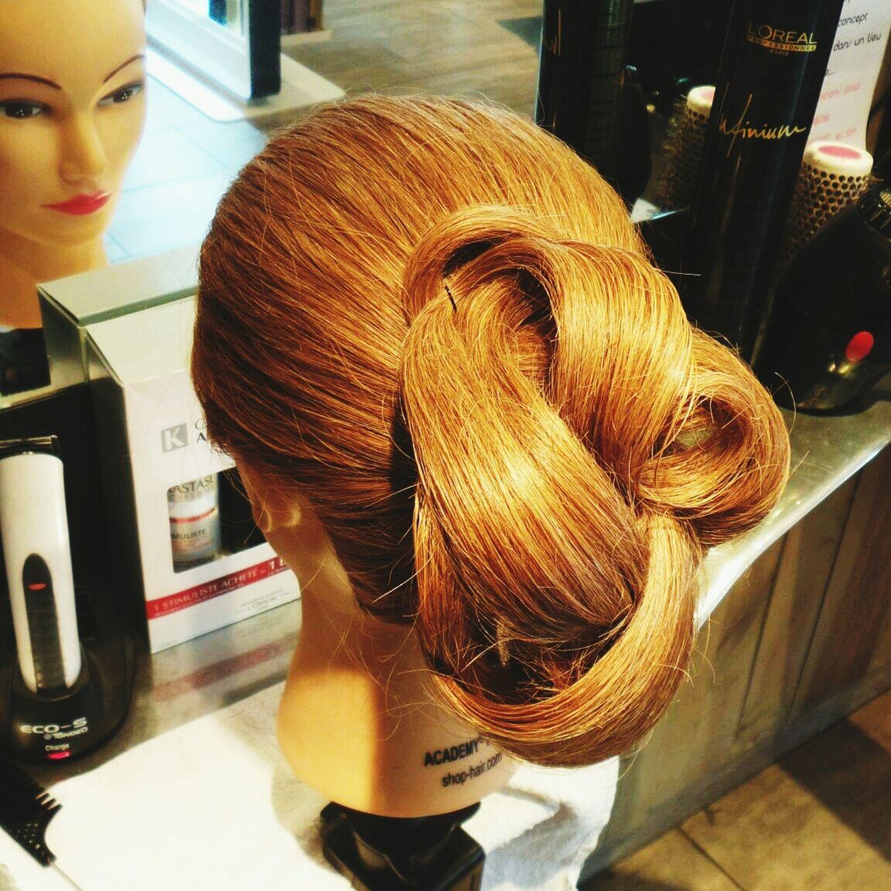 Hairdressing Inspiration Creation Chignon