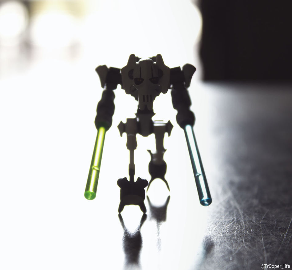 Close-up Funny Grievous Hobbies LEGO Lego Minifigures Minifigures Star Wars Toy Learn & Shoot: Balancing Elements