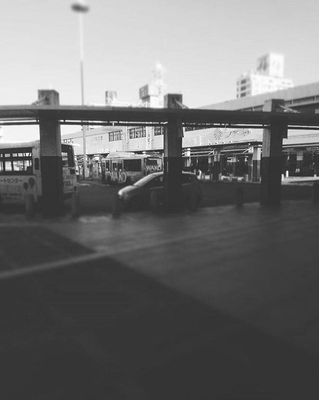 駅 駅前 バス バスターミナル