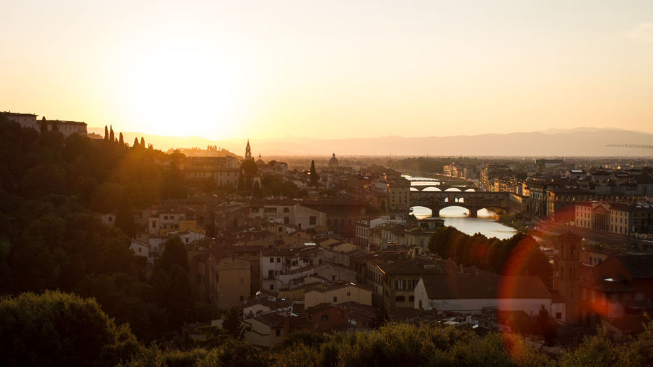 Beautiful stock photos of sunrise, Firenze, Italy, Urban, aerial View