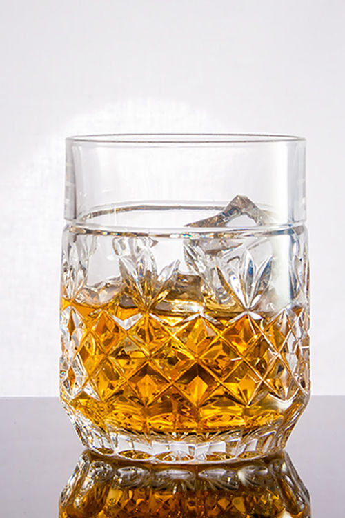 Arrangement Close-up Container Focus On Foreground Freshness Jar No People Still Life Studio Shot Whisky Whisky Glass White Background Yellow
