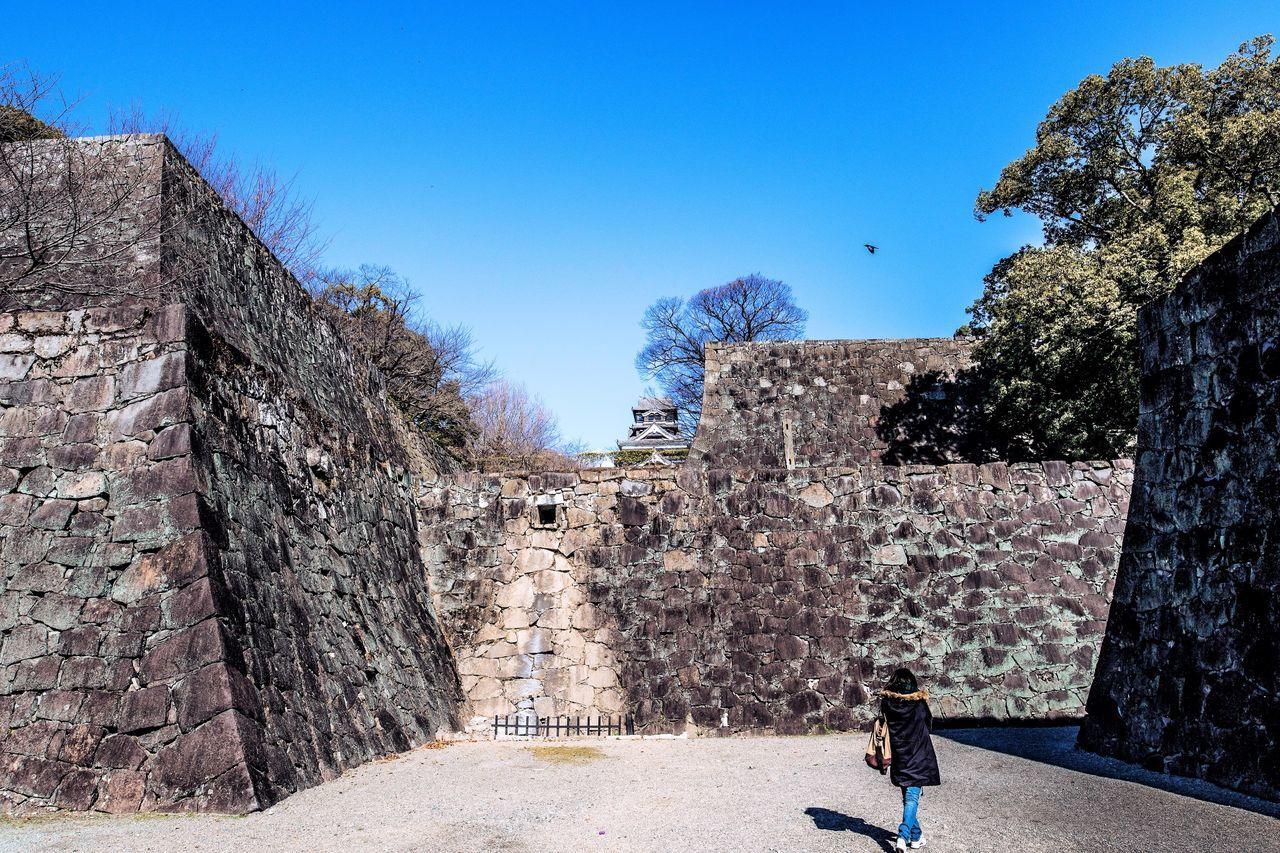 Kumamoto Kumamoto Castle Tourist Lonesome Sky Blue Sky Canon EOS 7D Mark II