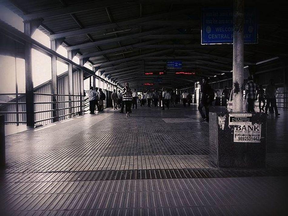 A view of the Thane railway station. Flyover Thane Railway Station Filtered Photo Indian_photographers Asusglobal Asus Zenfone Zenfoneglobal Instadaily Instagood Instagram India_gram Indianstories Ig_Mumbai Ig_maharashtra Ig_india Ig_worldclub Repostingindia _soi Soimumbai