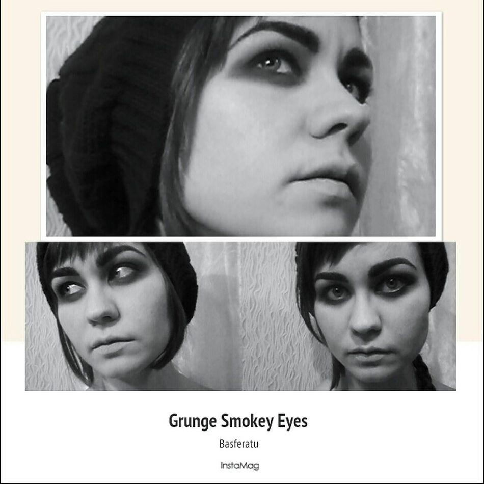 That's Me Make Up Makeup Artist Grunge Grunge Makeup Grungegirl GrungeStyle Hello World Face Of EyeEm Russian Girl