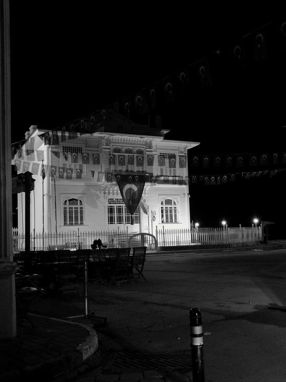 City History Building Exterior Travel Destinations Architecture Night No People Mütareke Mudanya Turkey Turk ATATÜRK ❤