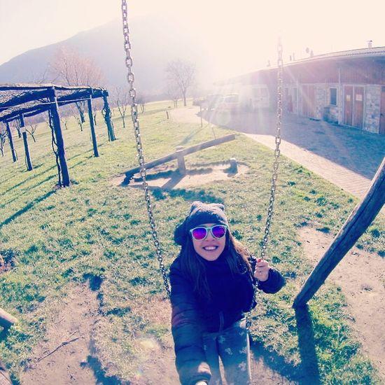 Enjoying Life Follow4follow Me :)  Altalena Goprooftheday Gopro Hero3 Sciura Sun Selfie Happy