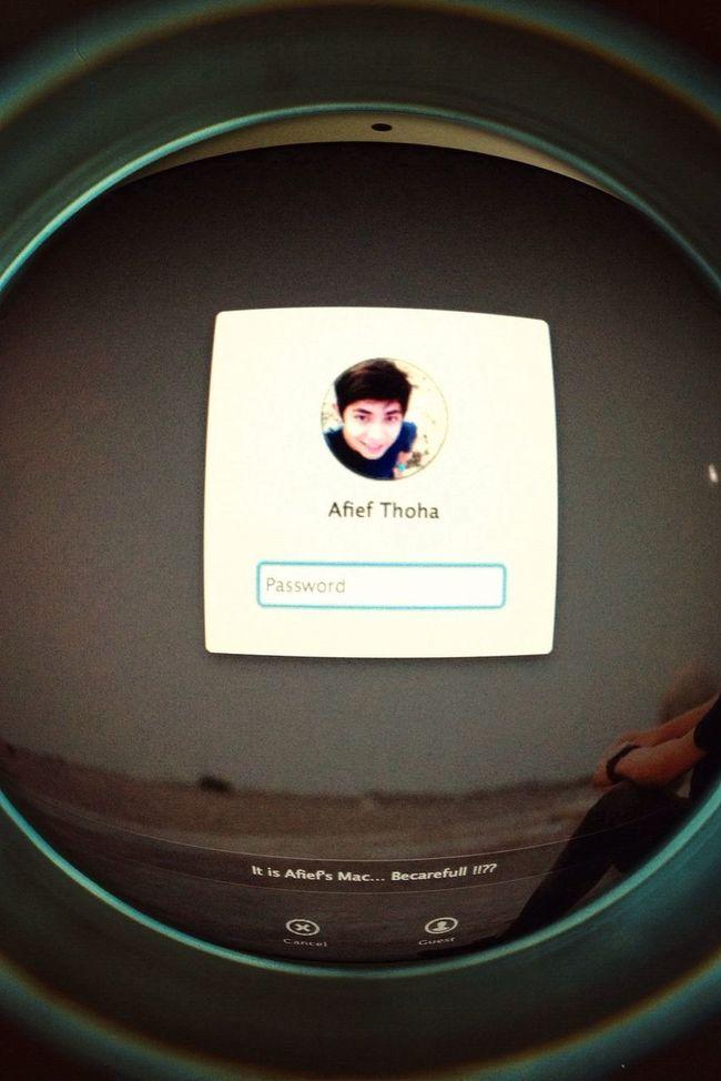 Opening Macbook Air Apple Password