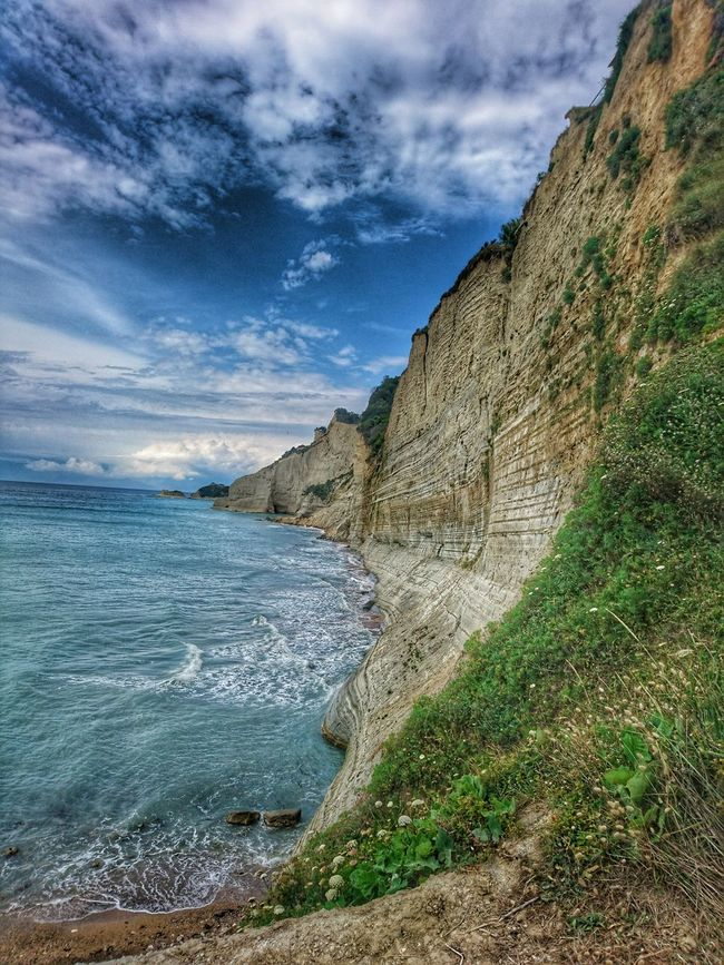 corfu greece Sky Travel Destinations Water Tranquil Scene Cloud - Sky Beauty In Nature Cloud Blue Day Green Color Mountain TakeoverContrast Majestic Sunset Tranquility Outdoors Grass Magnificent World Paradise Focus Capture The Moment Sky Water Travel Destinations Travel