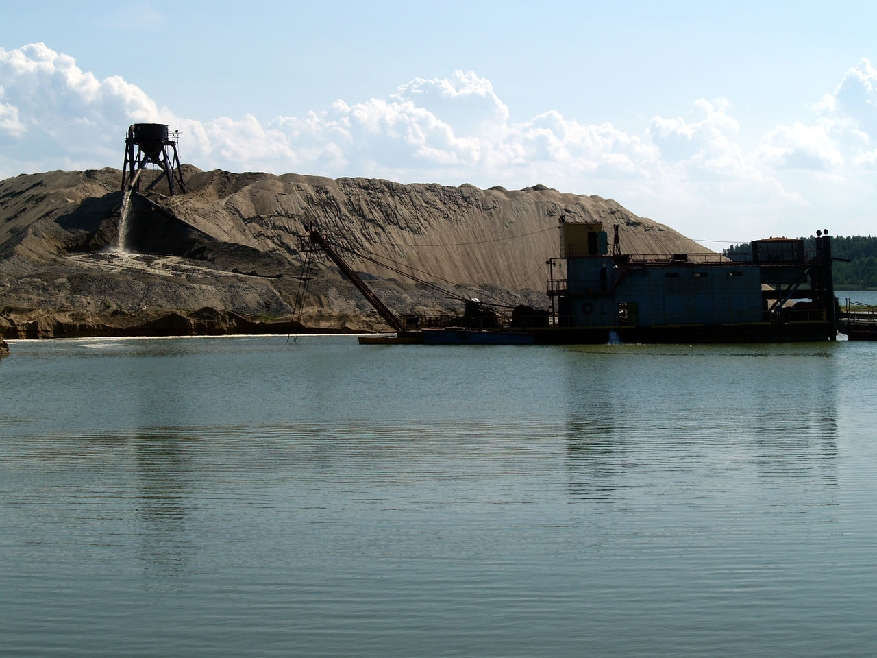 Beauty In Nature Day Mining Industry Nature No People Outdoors River Sky Water