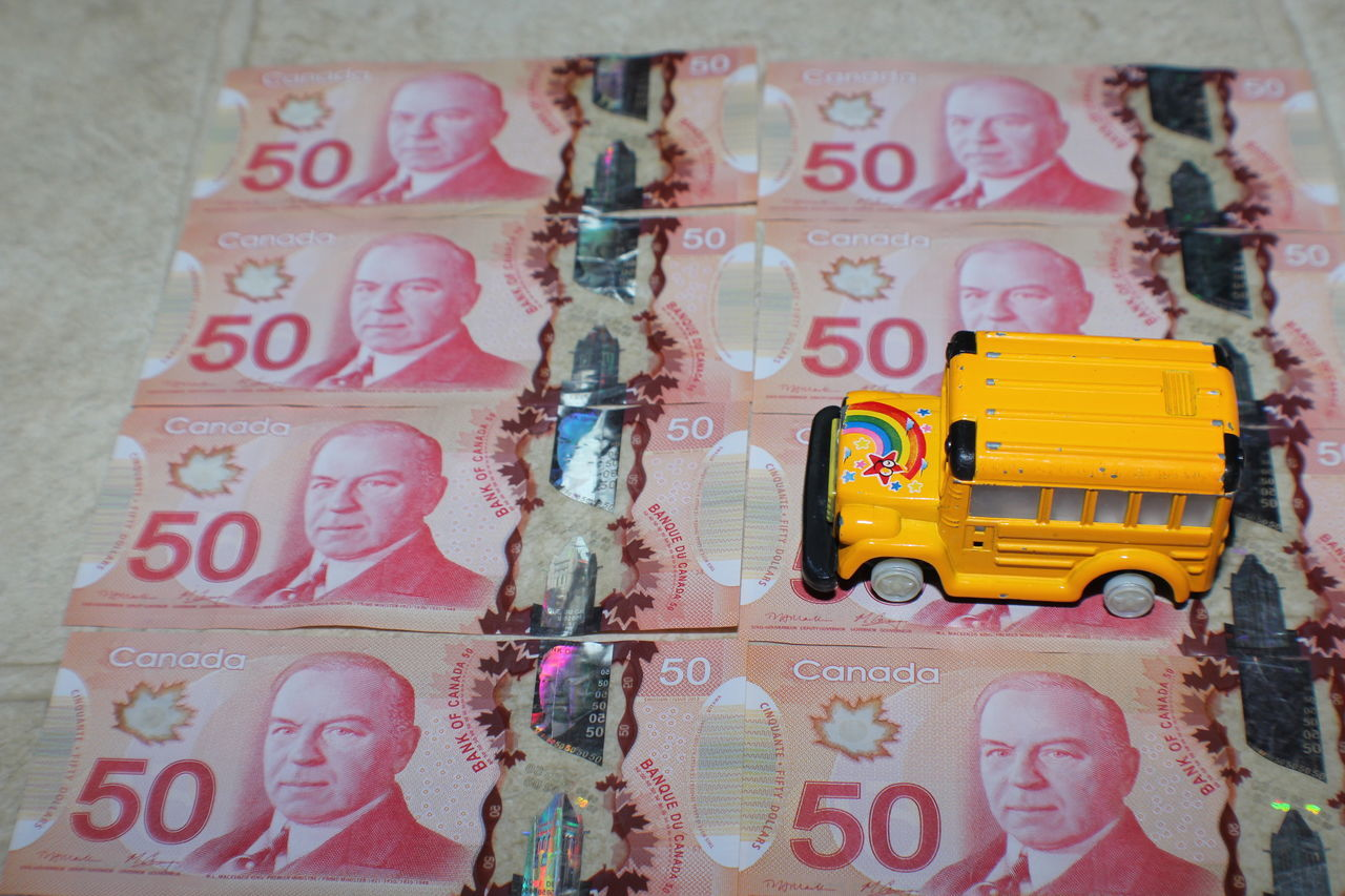 Close-up Currency Day Indoors  Money Lot No People Paper Currency School Bus