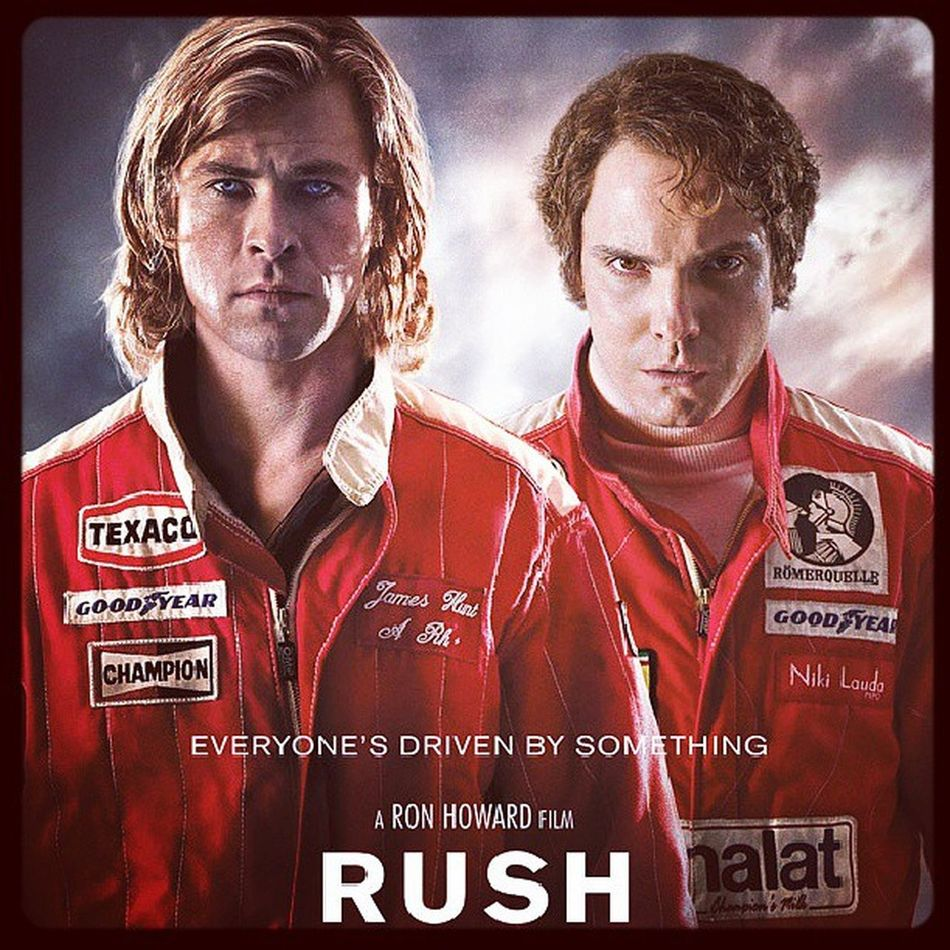 Just saw Rush. Good movie.