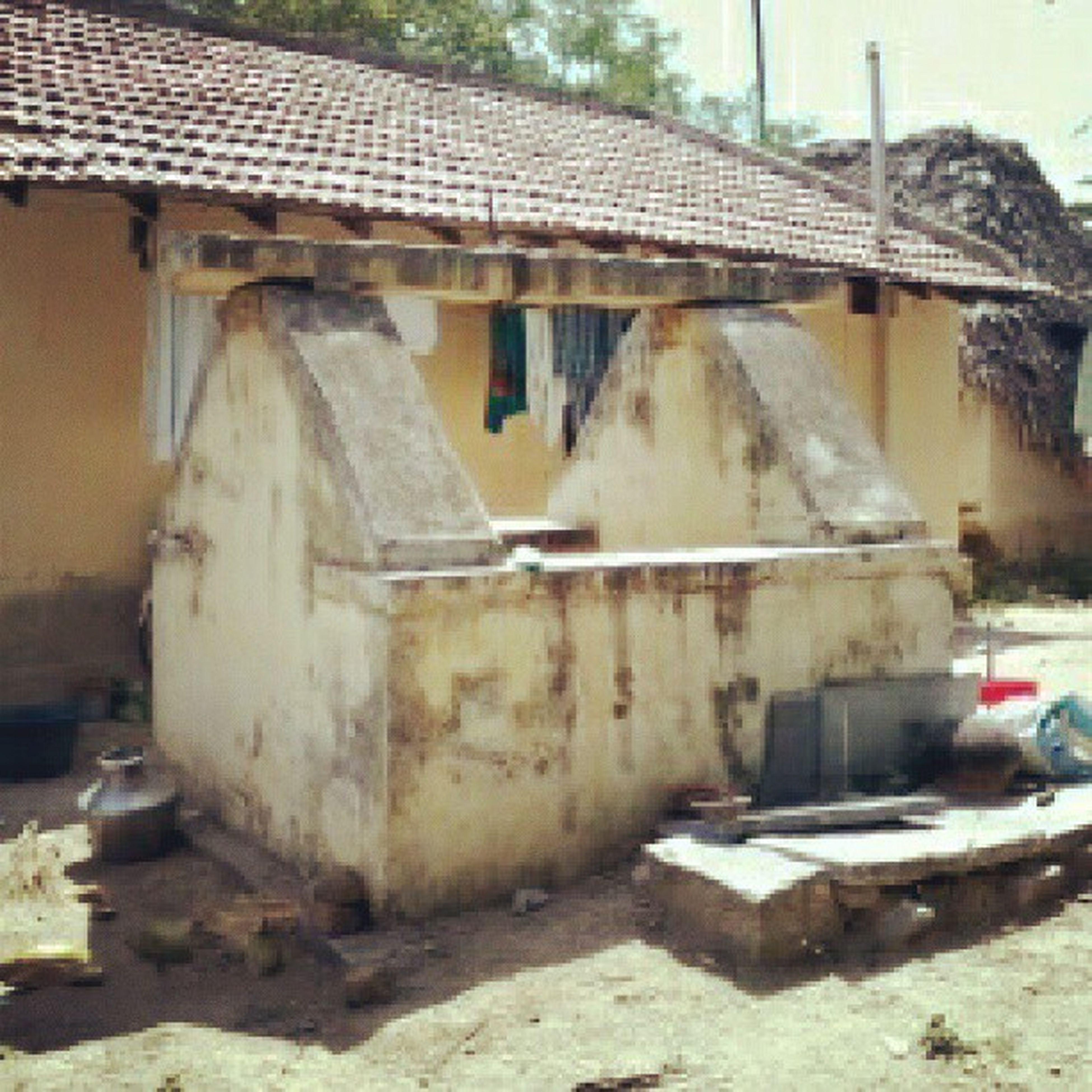 Behind my Village house..