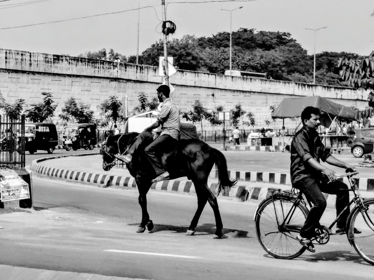 Monochrome Photography Mode Of Transport Monoart Horse Riding Eye4photography  EyeEm Best Shots EyeEm Nature Lover Bhubaneswar Eye Em Travel India EyeEm Gallery CyclingUnites Check This Out Taking Photos Eyemphotography EyeEmBestPics Life In Motion EyeEm Best Shots - Black + White Commute Roadsidephotography Outdoors Streetphoto_bw Monochrome