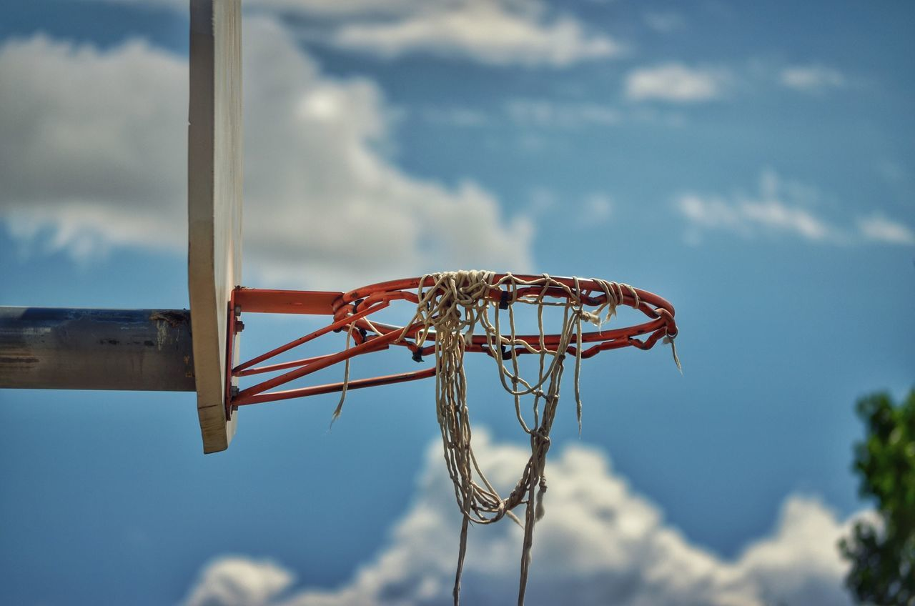 Beautiful stock photos of basketball, Basketball - Sport, Basketball Hoop, Damaged, Day