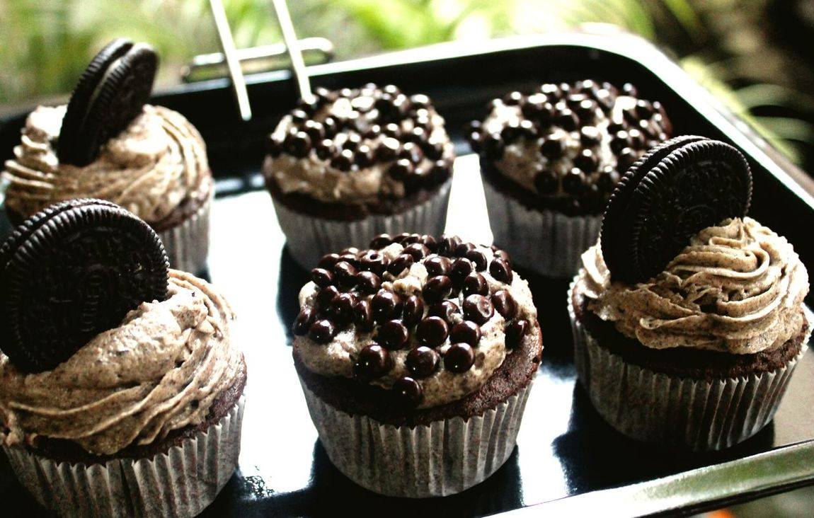 The Foodie - 2015 EyeEm Awards Baking Cupcakes Dessert Oreo Cupcakes