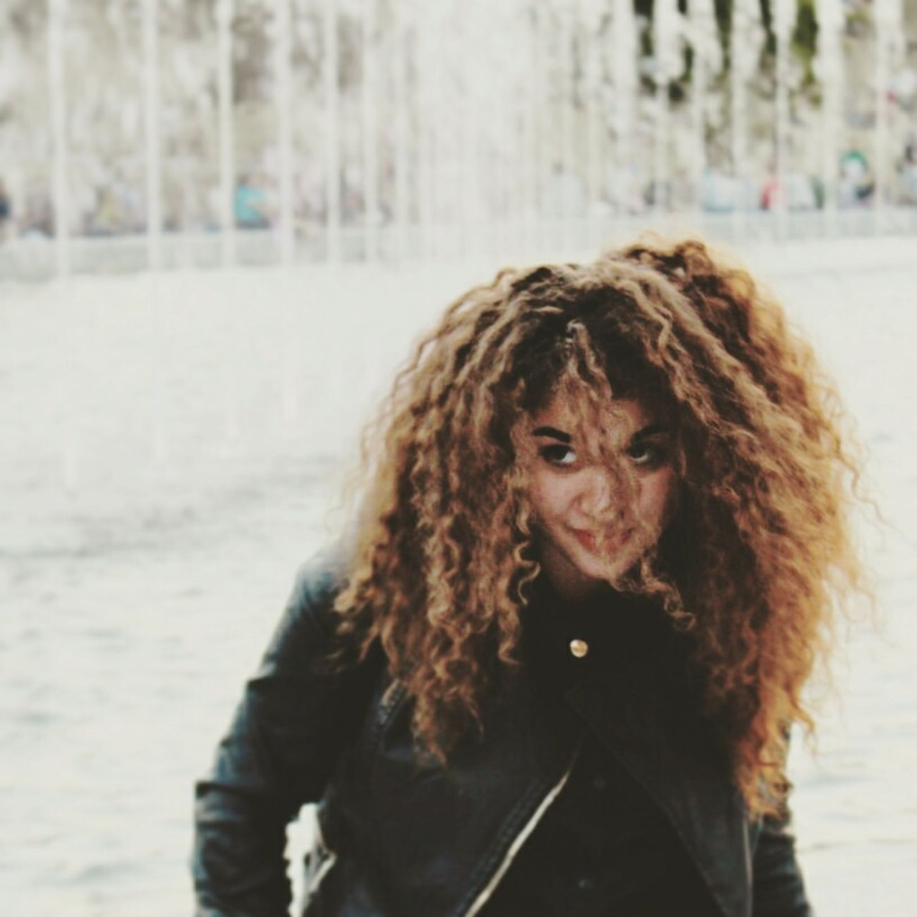 That's me :) That's Me Hi! My Curly Hair Curlyhairgirls Student Polishstudent GirlfromUkraine