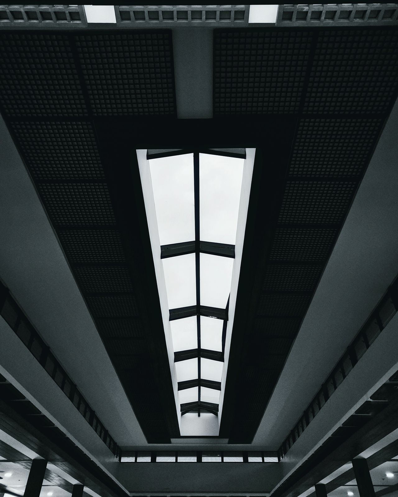 Virtually perfect ceiling Fine Art Photography Eyeem Collection Eyeem Philippines Architecture Pattern Black And White Monochrome Design Interior Design Serenity Indoor Photography Philippines