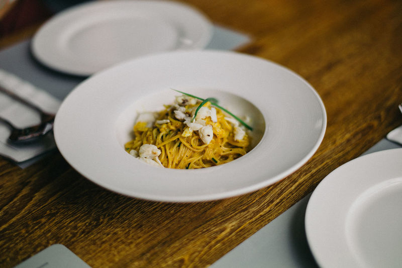 Spagetti crab curry...... By leica mp9 & 50 lux asph bc Food And Drink Freshness Food Ready-to-eat Spagetti Time Spagetti Spagetti Night Hanging Out Lifestyles Restaurant Dinner Enjoying Life Dinner Party Leica M9-P