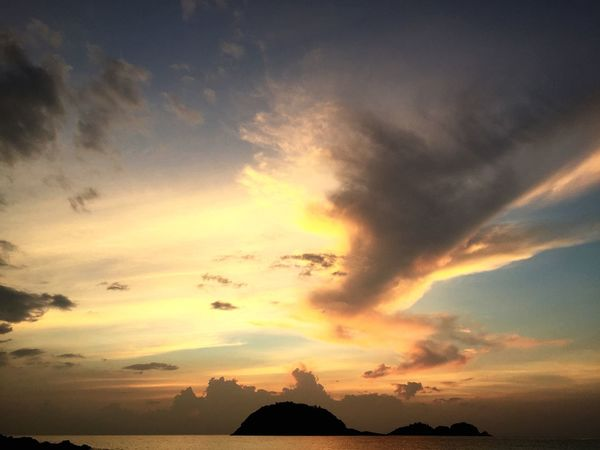 Malaysia Redang Island EyeEm Best Shots Malaysia Sunset Sunset_collection Nature_collection Taking Photos Clouds And Sky