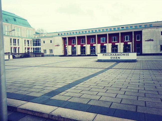 Taking Photos Stadt Essen Philharmonie Essen