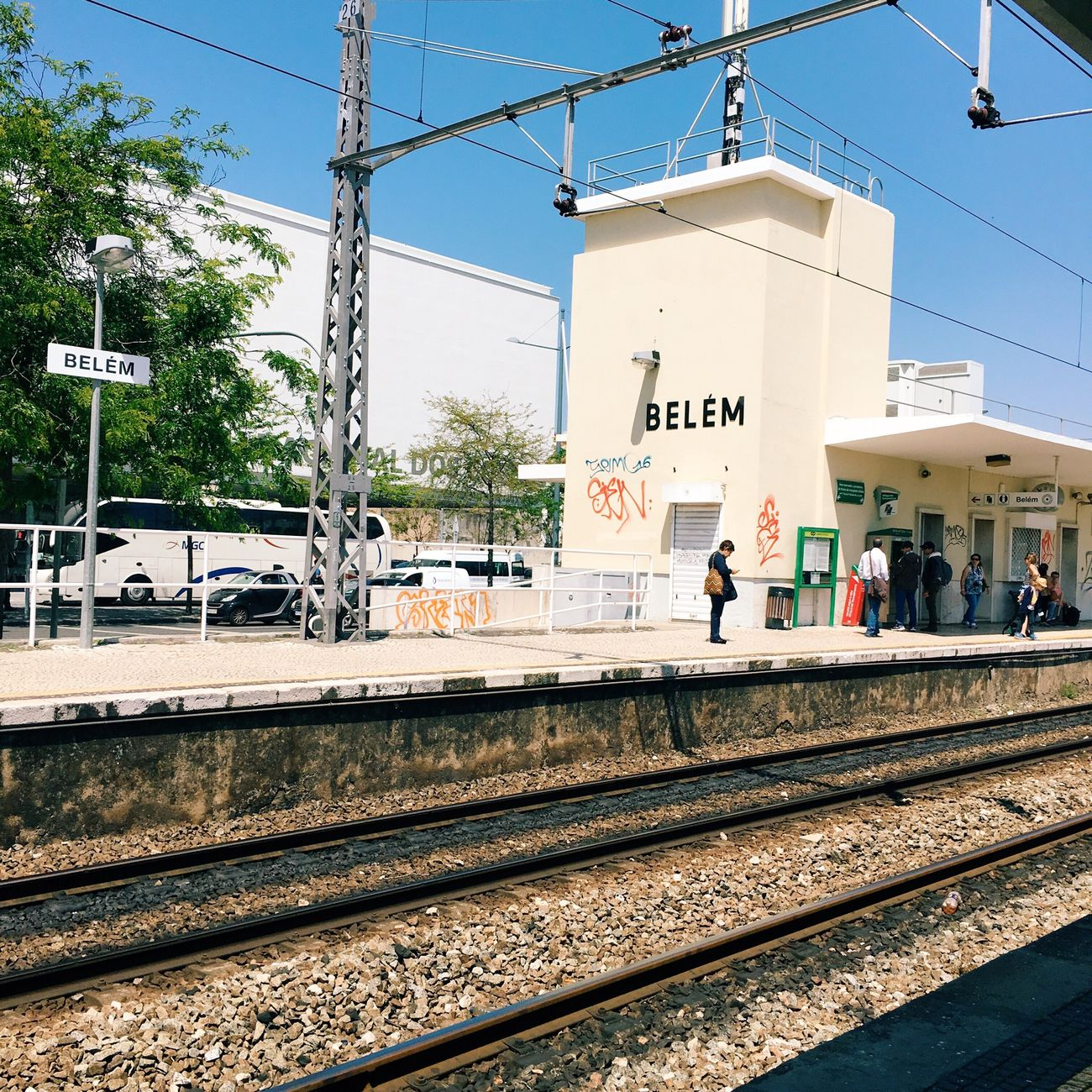 Lisbon Train Station Belém Hello World