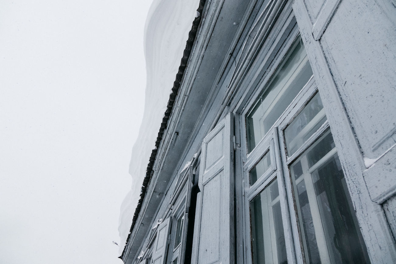 Architecture Building Exterior Built Structure City Low Angle View No People Rural Scene RX10II RX10M2 Snow Sony Streetphotography Winter