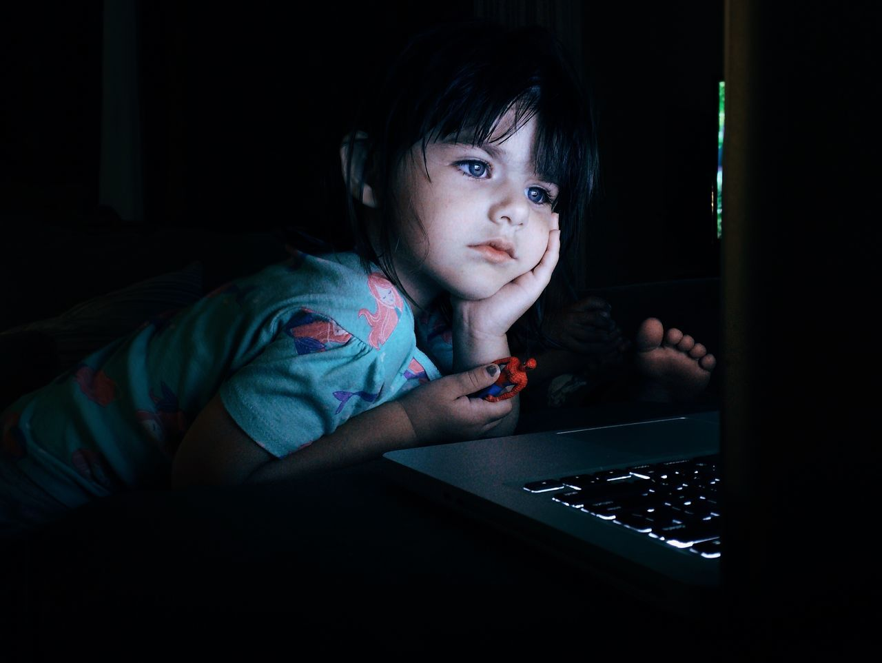 Beautiful stock photos of computers, 2-3 Years, Bangs, Caucasian Ethnicity, Childhood