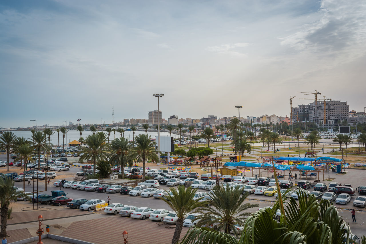 City Cityscape Day Martyr Square Nature No People Outdoors Sea Travel Destinations Tripoli Urban Skyline Vacations