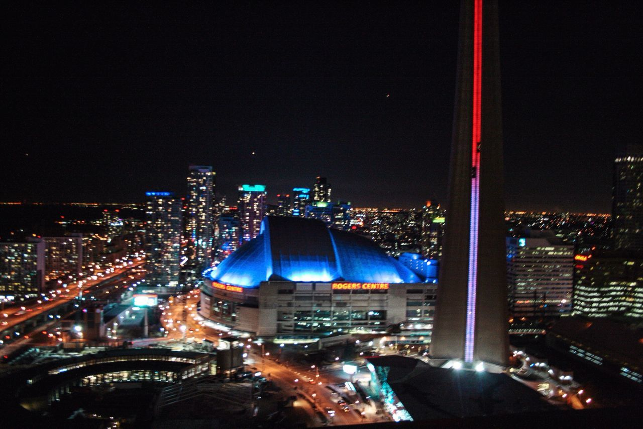 illuminated, night, architecture, cityscape, building exterior, city, built structure, no people, outdoors, modern, sky