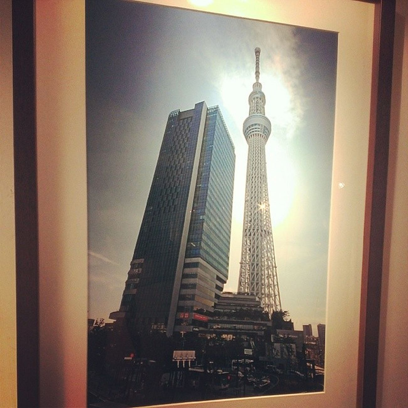 我外公真的很會拍照東京 晴空塔