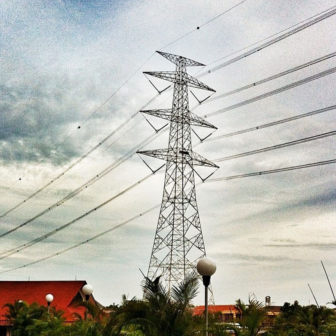 Tower Listrik Sutet Jakarta