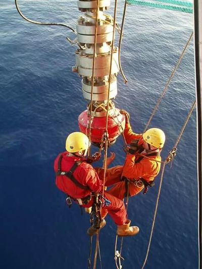 Hai 😀😀😀😀😀😀 frnds my work in offshore how it's 👍👍👍👍