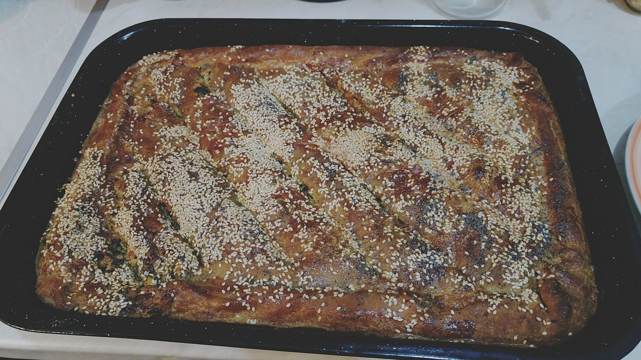 My Traditional Greek Spinach Pie With Feta And Yeast  Zymè Taking Photos Home Is Where The Art Is Food Taking Care Of Family Hanging Out Enjoying Life Hello World Ready-to-eat Hidden Gems  Colour Of Life