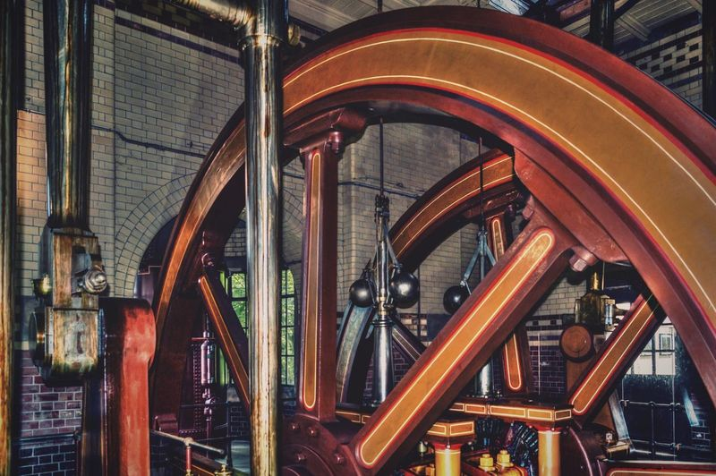 Steammachine Steam Machine Dampfmaschine Maschine Dampf Wheel Schwungrad