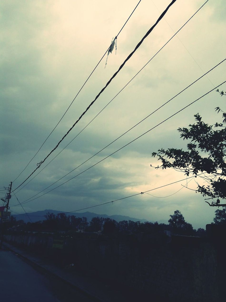 Awesome_view Nature Cloud - Sky Electric Wire Beauty In Nature First Eyeem Photo