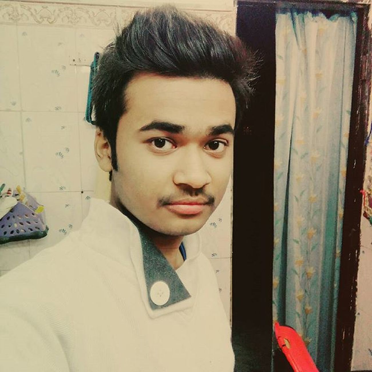 Selfie After LongTime  Love Me Cute Face no Beards Hastags Instalove Ig Instadaily Instagood Doubletap Lfl Fff Followme Swag Swaggy Swagger  Iger Instadict Cool Stud Like follow