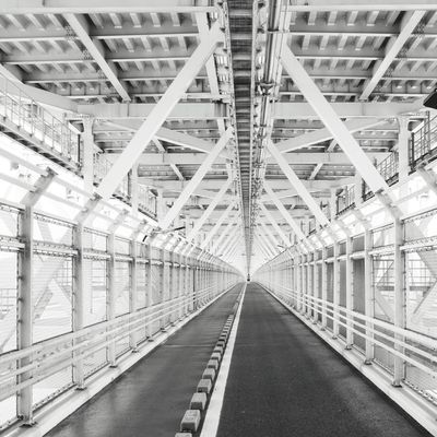 before he disappeares Tunnel Monochrome Street Photography Cityscapes Bridges Architecture