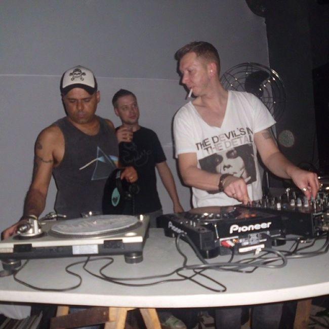 Caravana da Coragem foi incrível. Techno House Underground Trackers SP