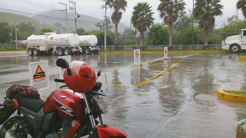 Rain Lluvia Motorcycle