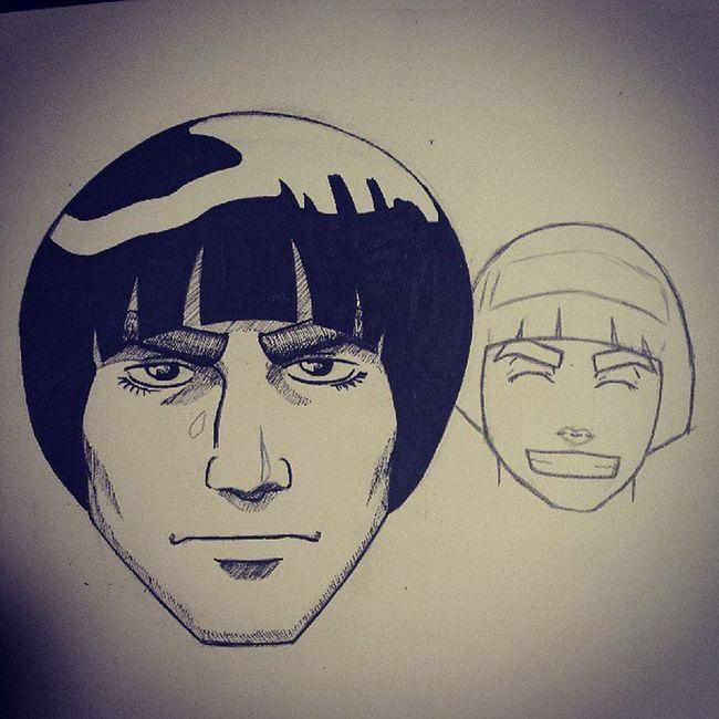 Taijutsu will always be my favorite! MightGai Rocklee Naruto Anime Manga Leaf Ninja itachi Sasuke Kakashi. Not done