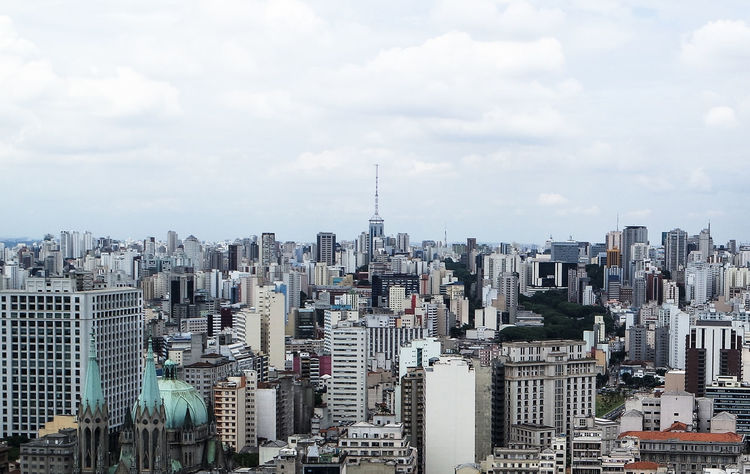 Sao Paulo Architecture Brasil Brazil Building Exterior City Cityscape Crowded Downtown Skyscraper South America São Paulo