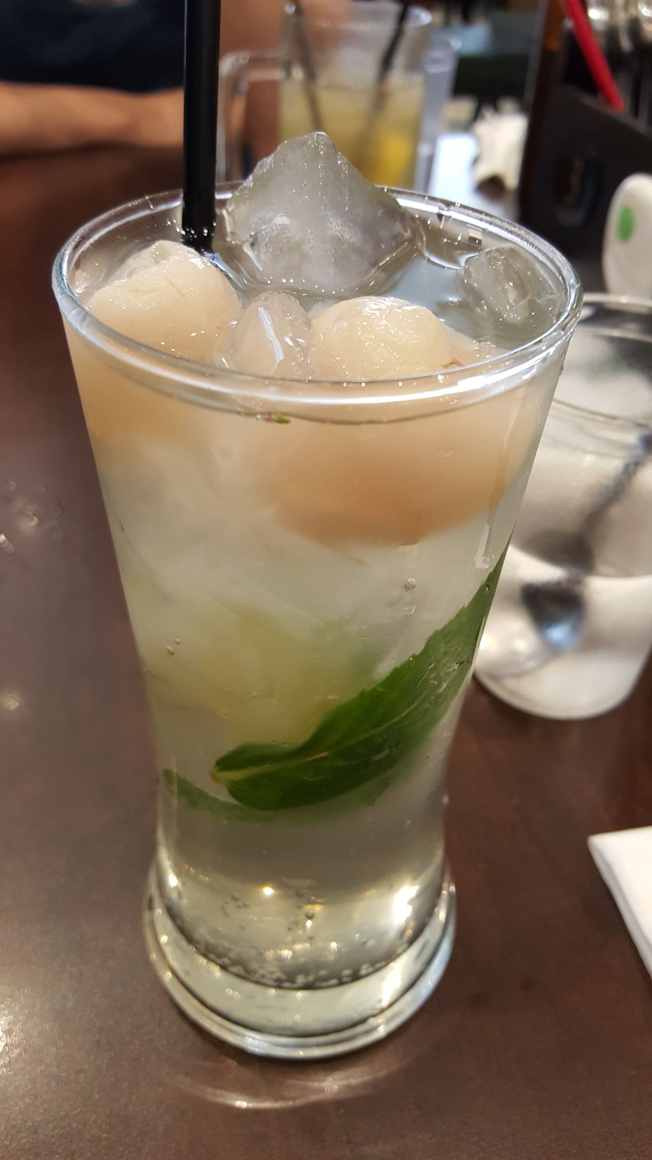 Lychee Soda Refreshing Summertime Papa Rich Northbridge Malaysian Food Drinks