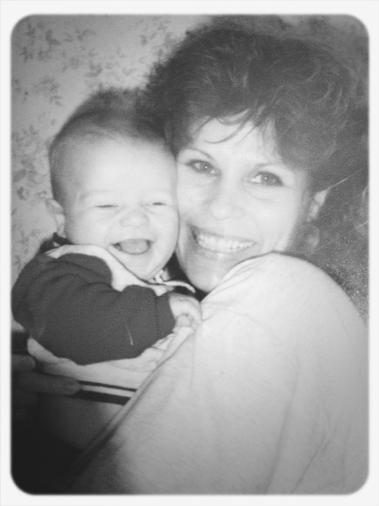 Mama And I A Little While Ago