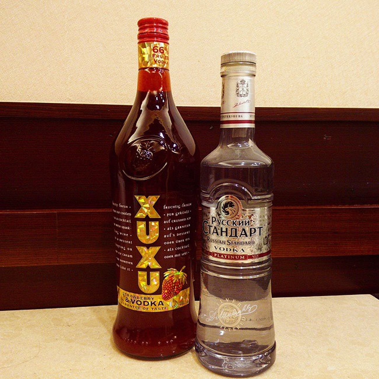 真正的Russian Vodka Xuxustrawberryvodka Strawberryvodka Russianstandard Russianstandardvodka Russianvodka