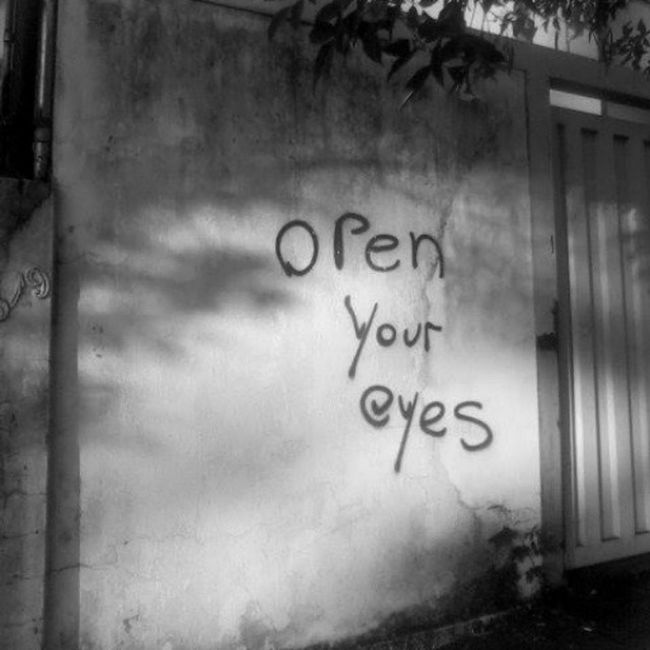 """Its Time to Realize what you've Missed .... And what you've Become """" Open YOUR Fuckin Eyes """""""