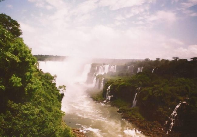 Water Nature Travel Scenics Beauty In Nature Waterfall Outdoors No People Landscape Day Tree Sky Brazilingran Brazil