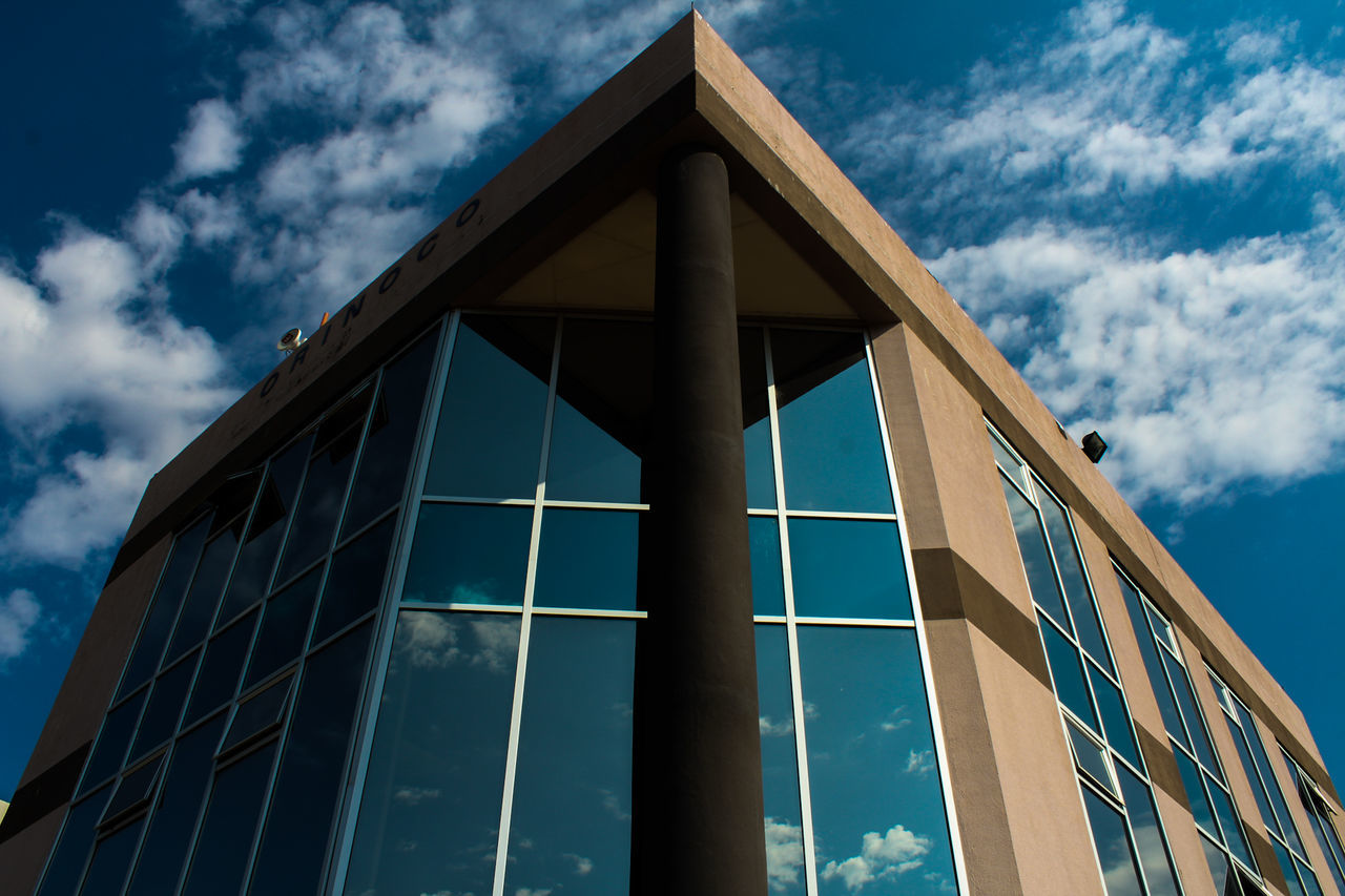 EyeEm Selects Architecture Built Structure Cloud - Sky Sky Modern No People Building Exterior Day Botswana Gaborone Architecture_collection Reflection EyeEm Africa