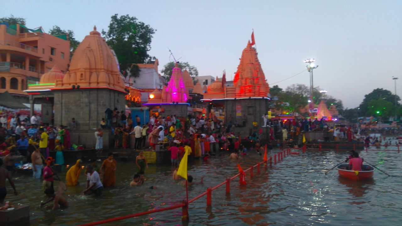 Simhastha Festival ,Ujjain ,India Simhastha 2016 Ramghat Kshipra Photography Madhya Pradesh