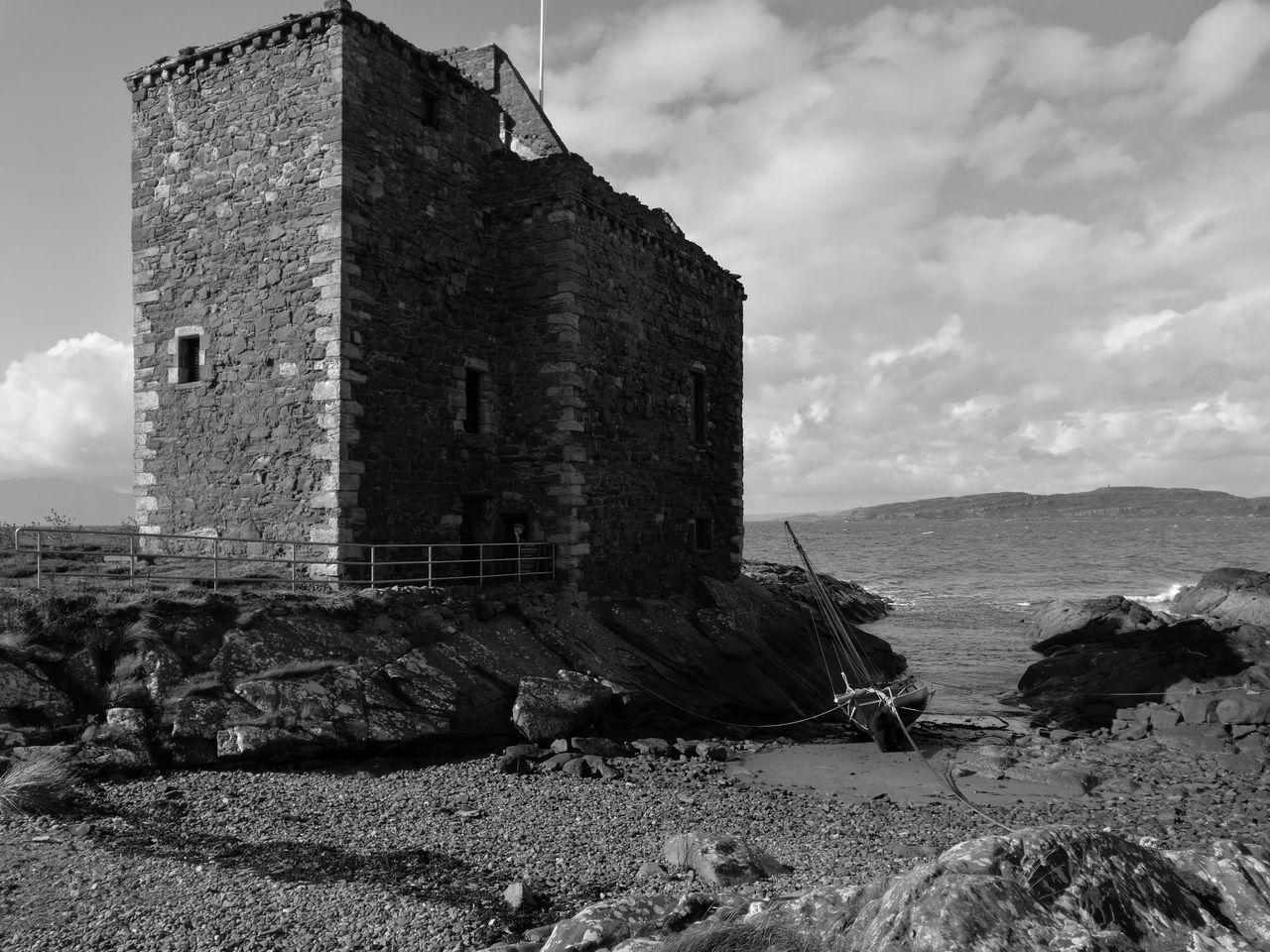 Portcross Castle